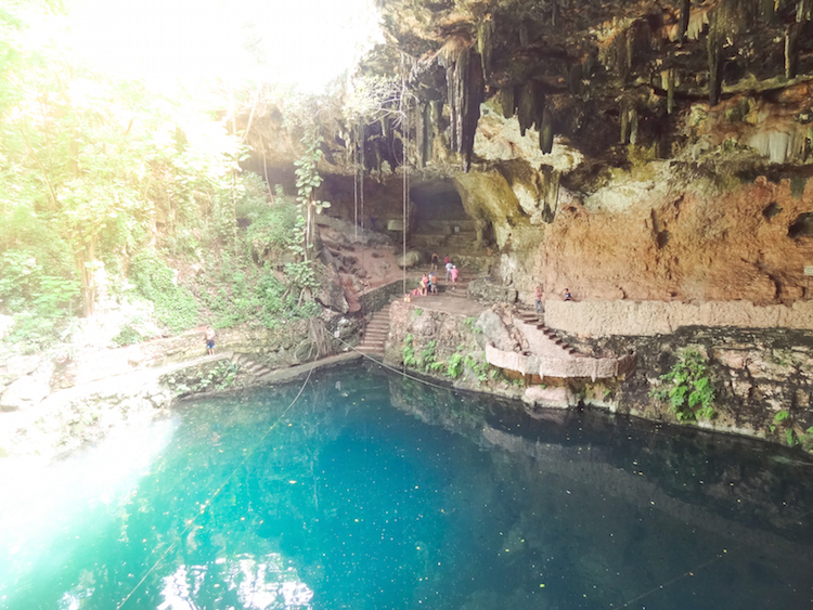 backpacken-mexico-valladolid-cenote