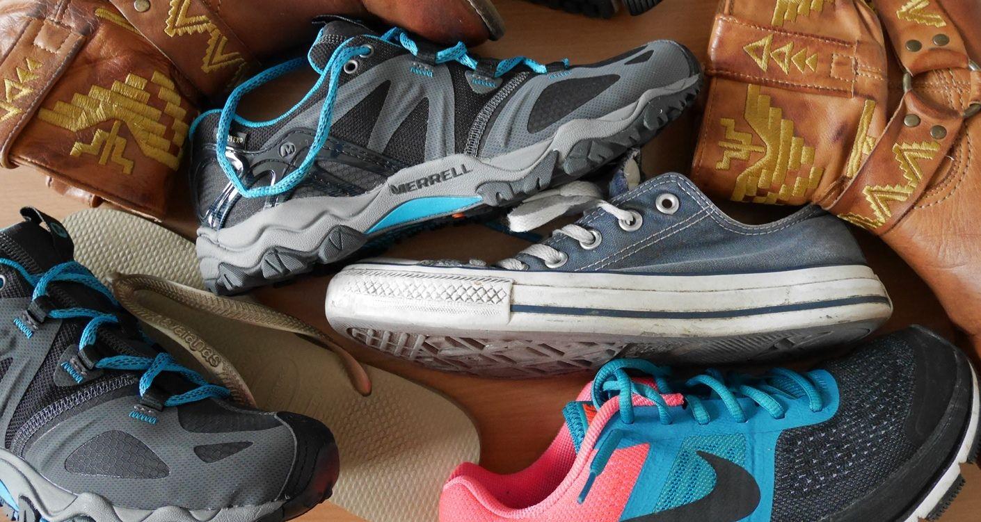 backpacken schoenen