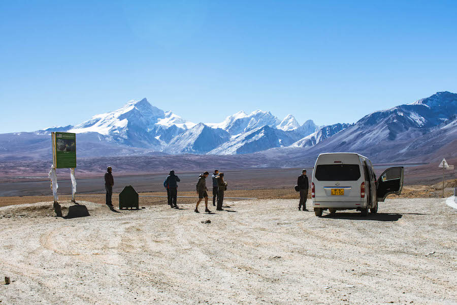 backpacken tibet landschap tim