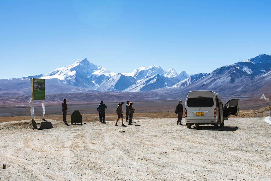 backpacken tibet landschap tim