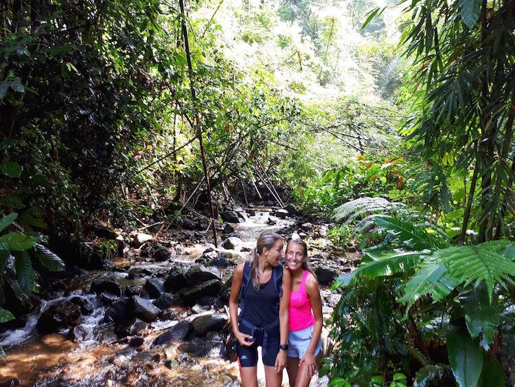 backpacken zusje zus jungle liesse-lotte