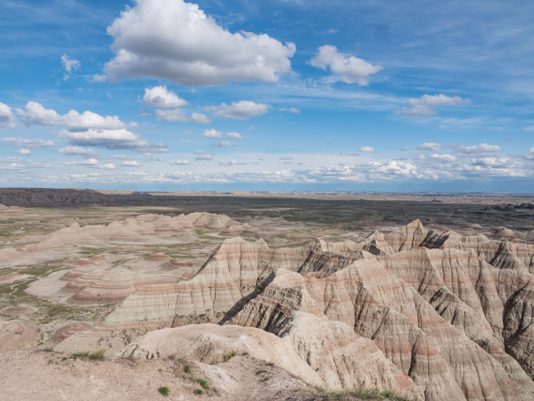 Badlands NP bergen