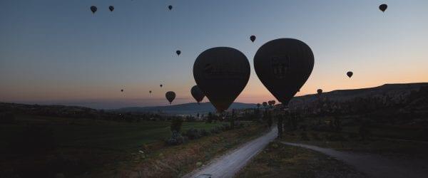 ballonvaart cappadocie turkije