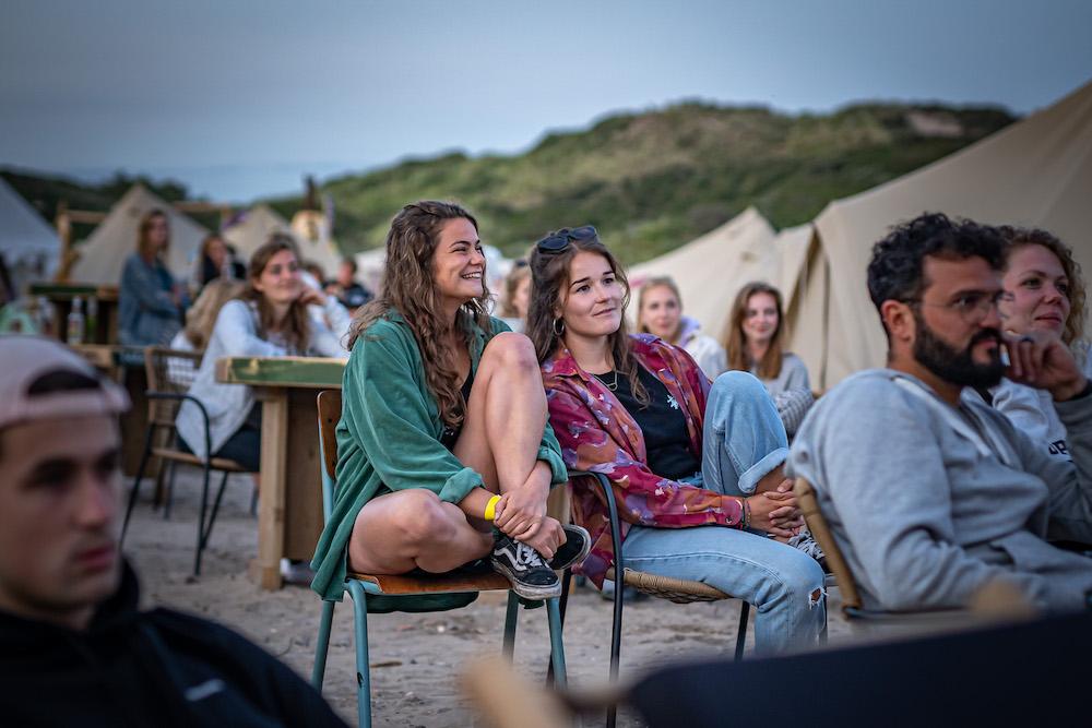 beach camp de lakens bloemendaal optredens