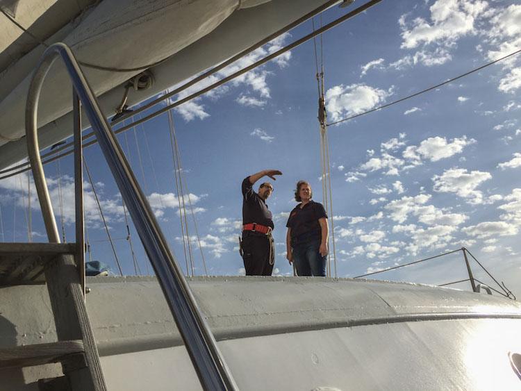 bemanning Eendracht op het schip