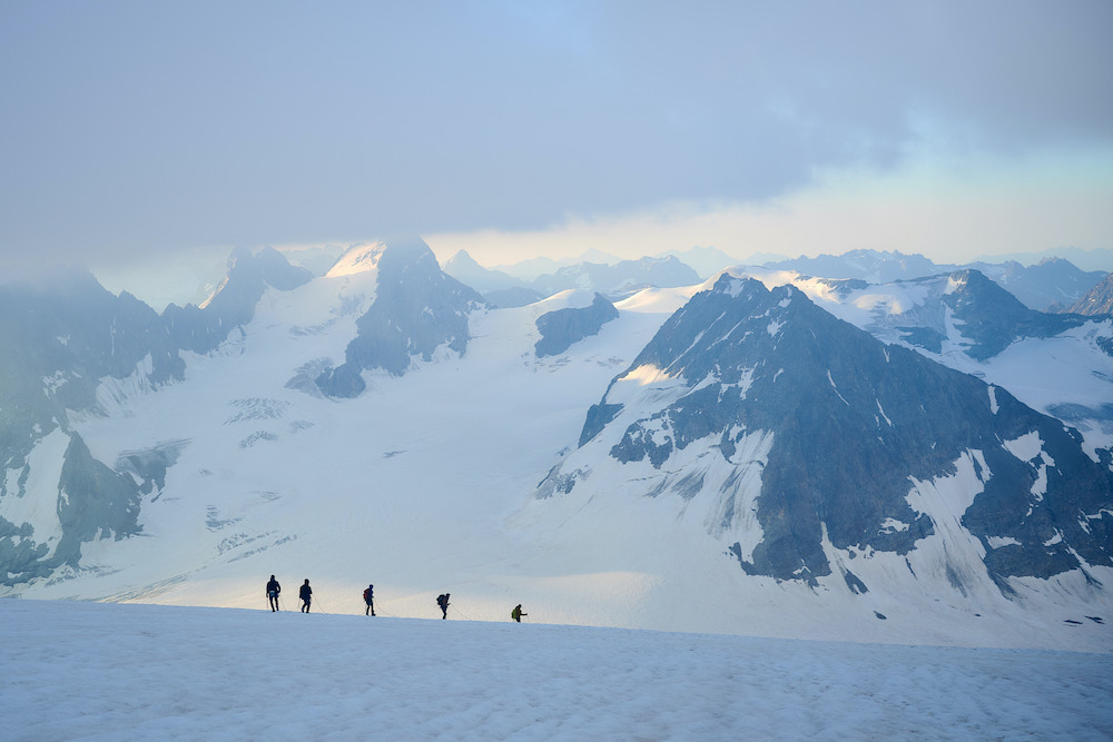 bergen in de zwitserse alpen