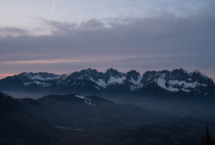 bergen kitzbuheler alpen
