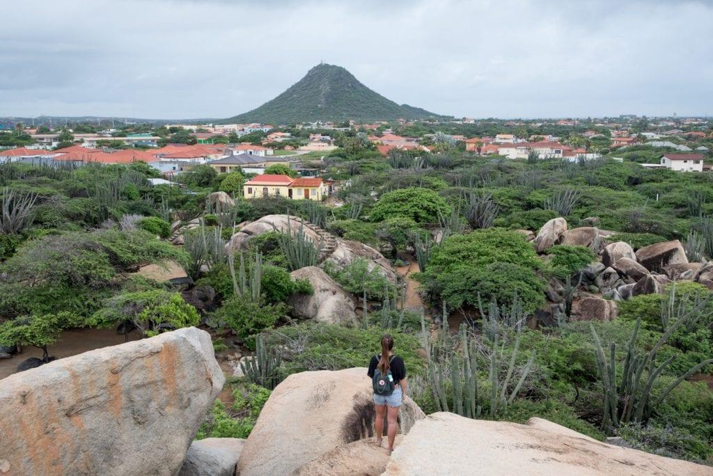 bezienswaardigheden Aruba Casibari_