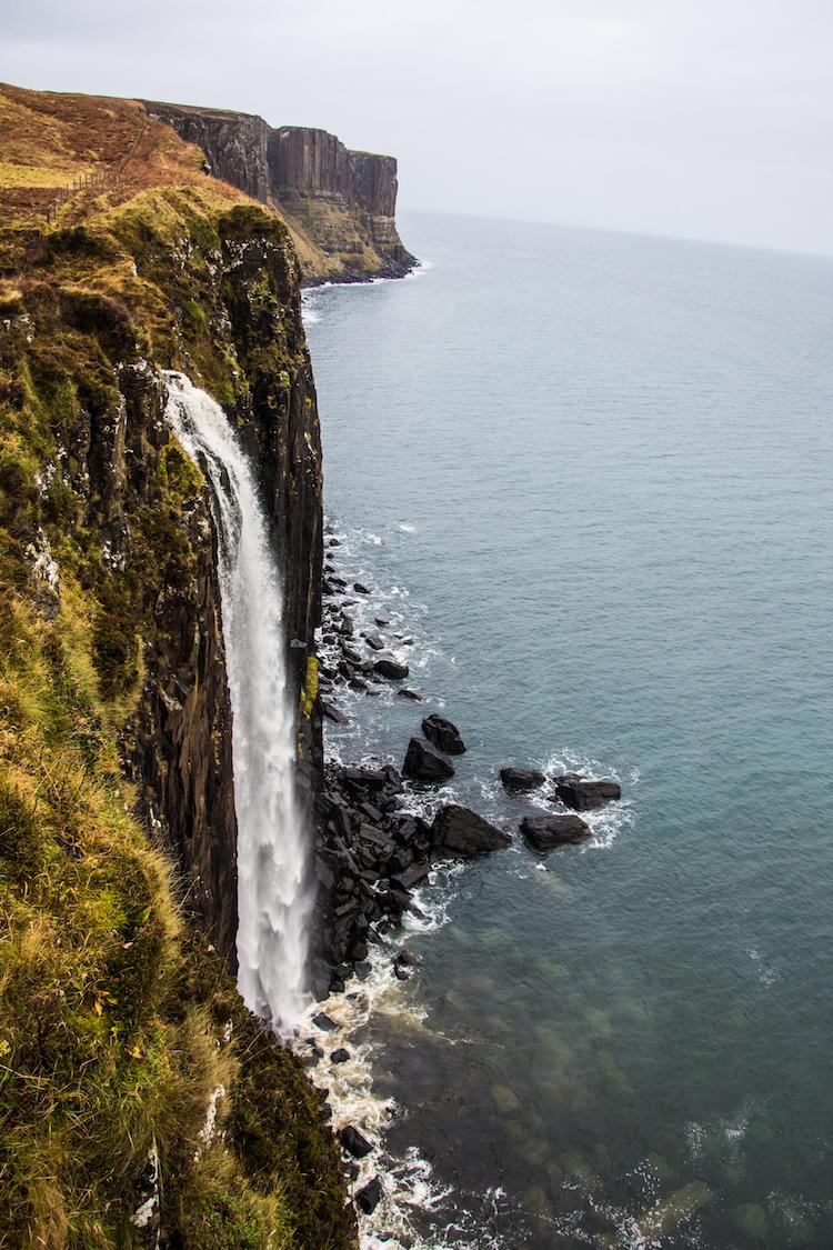 bezienswaardigheden Isle of Skye Waterval