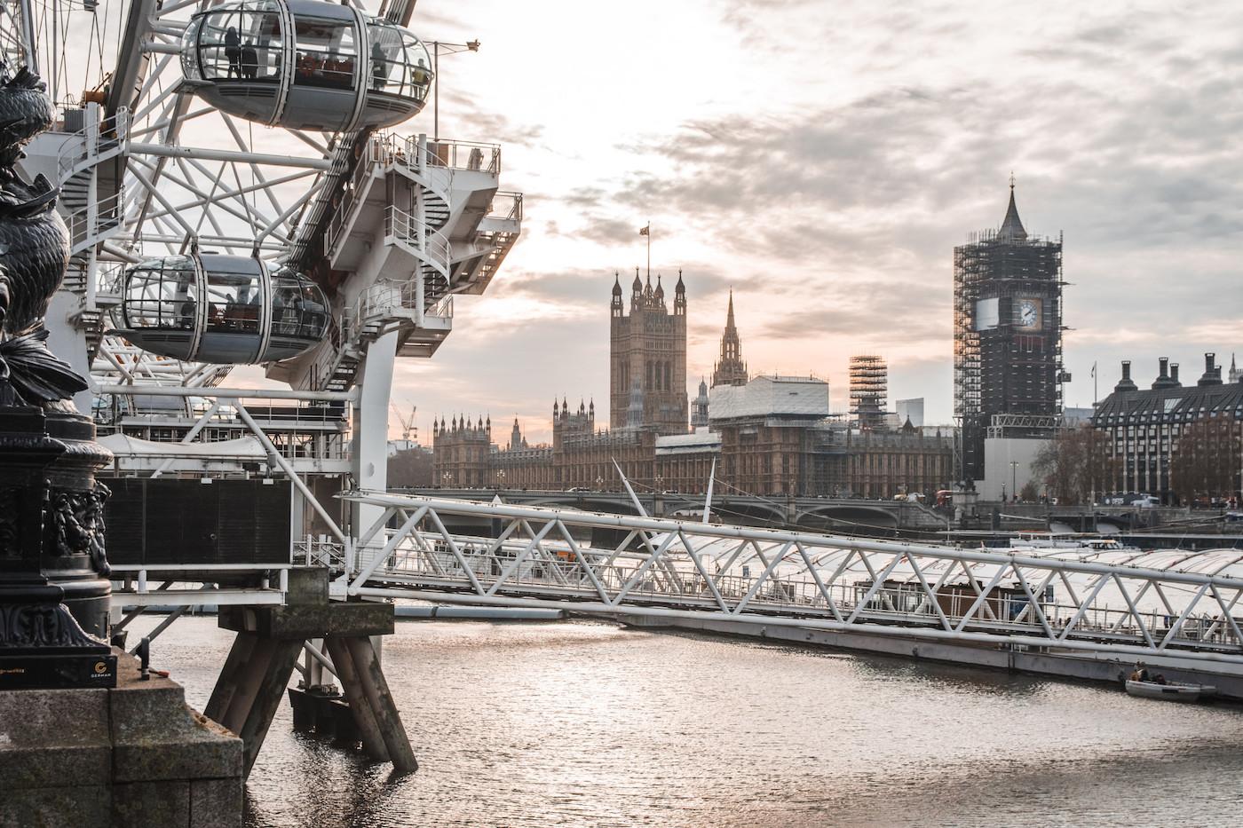 bezienswaardigheden Londen thames