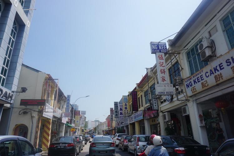 bezienswaardigheden penang maleisie straat