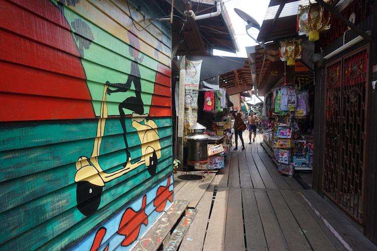 bezienswaardigheden penang maleisie street art chew jetty