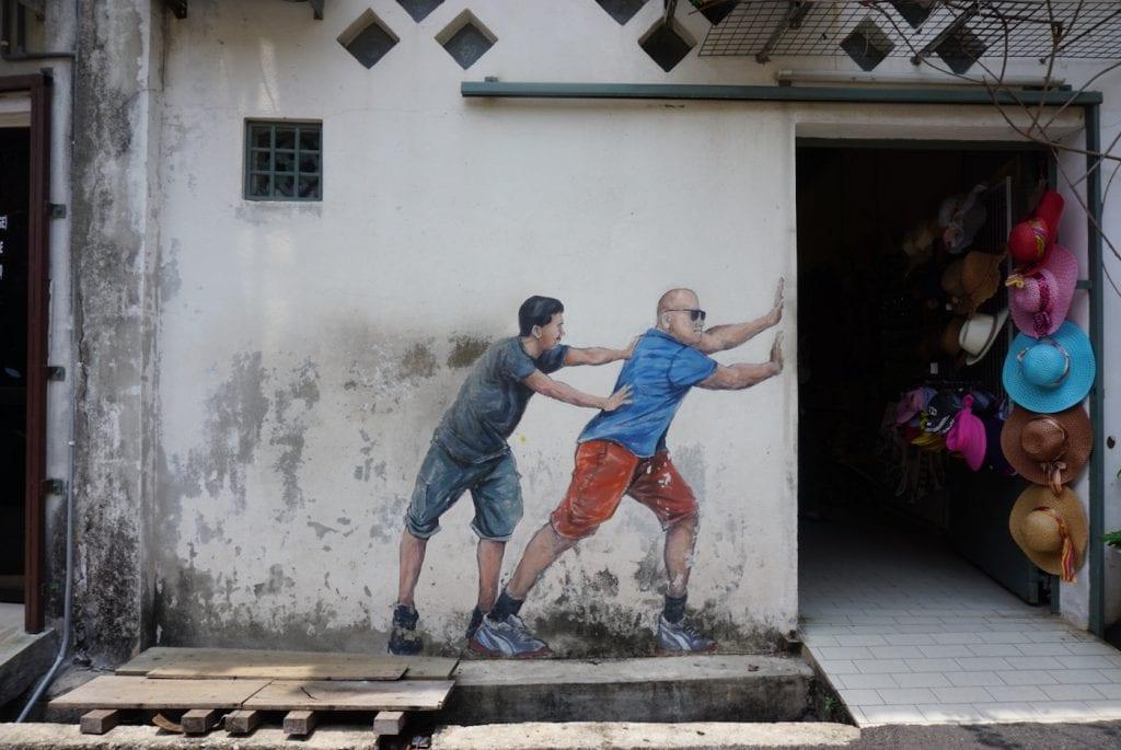 bezienswaardigheden penang streetart maleisie kunst