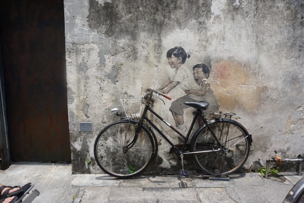 bezienswaardigheden street art penang maleisie