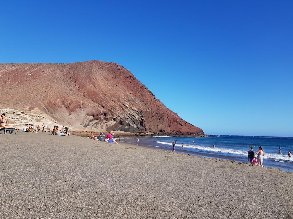 bezienswaardigheden tenerife Playa de La Tejita