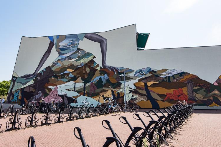 bibliotheek Helmond streetart