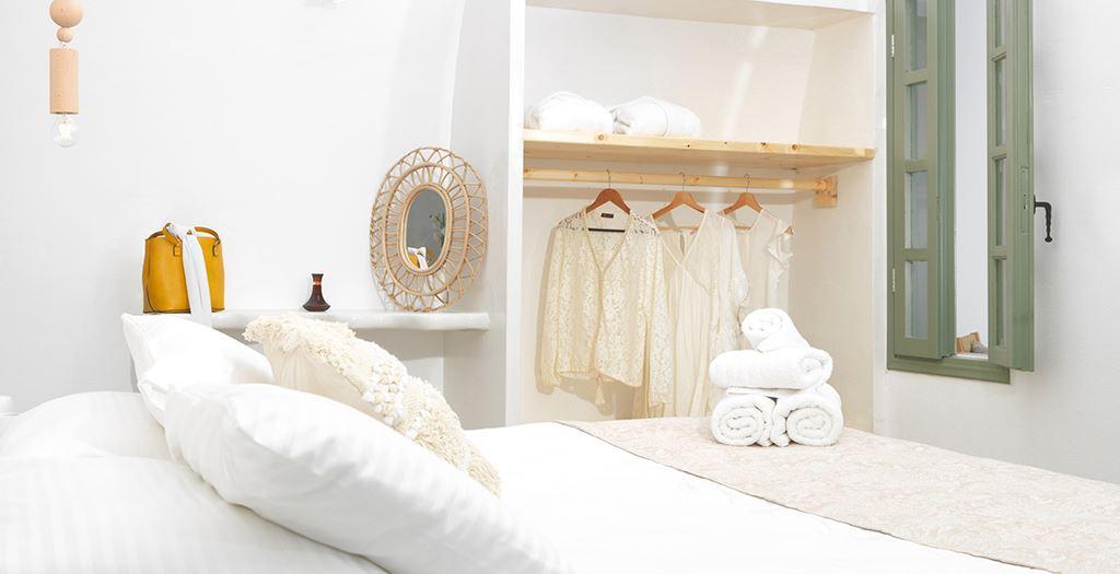 bijzondere bed breakfast santorini
