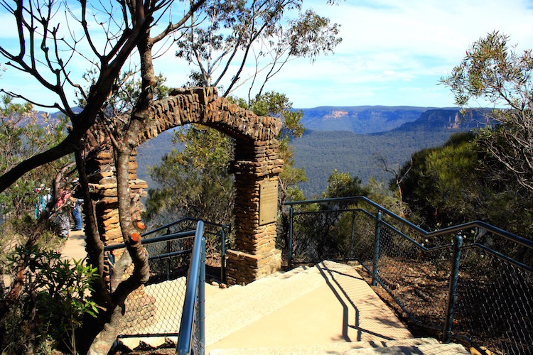 blue mountains hike