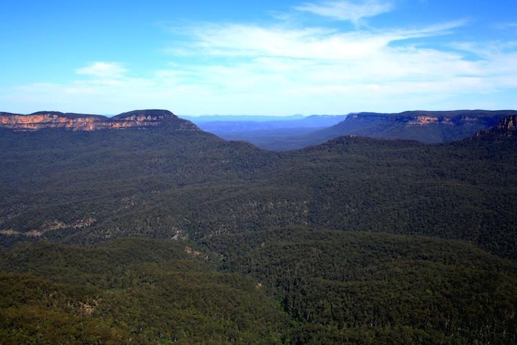 blue mountains hiken