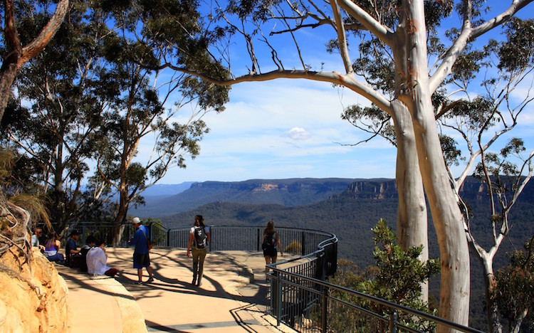 blue mountains in sydney australie