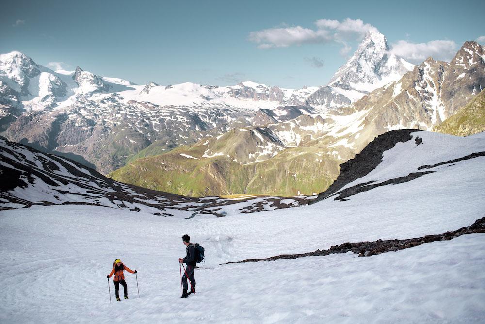breithorn gemakkelijke 4000ers sneeuw lopen