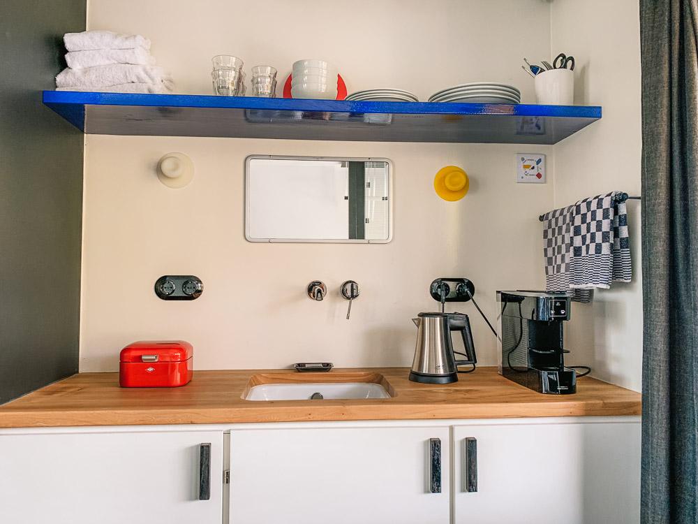 brugwachtershuisje amsterdam keuken
