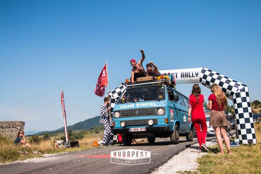budapest rally roadtrip