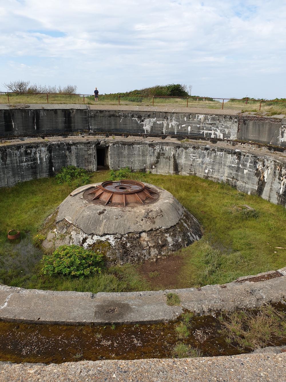 Bunkermuseum Hanstholm in Denemarken