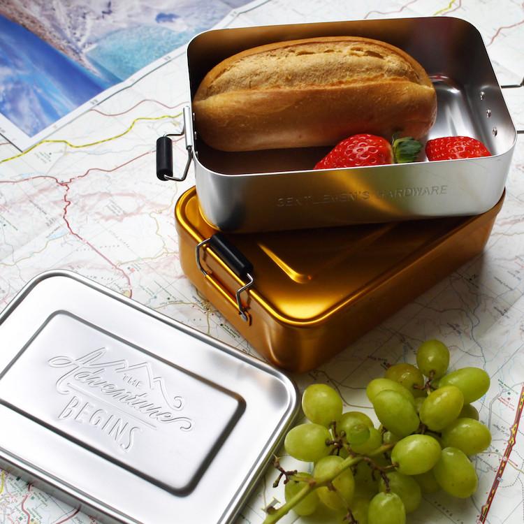 cadeau backpacker Lunchtrommel adventure time