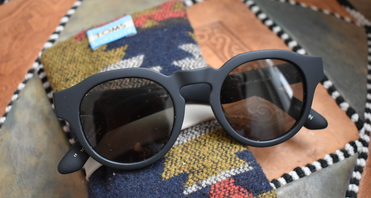 cadeau backpacker zonnerbril toms