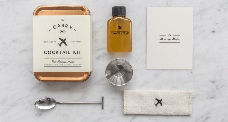 cadeau voor reiziger carry on cocktail