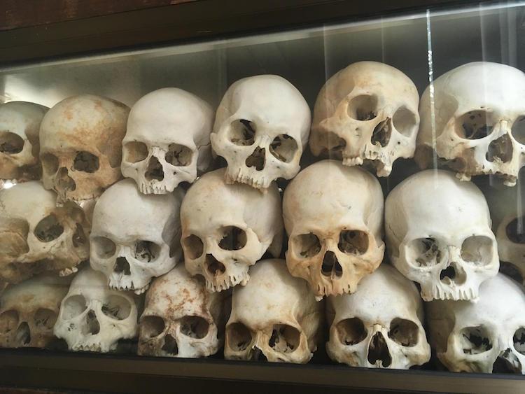 cambodja wereldreis killing fields