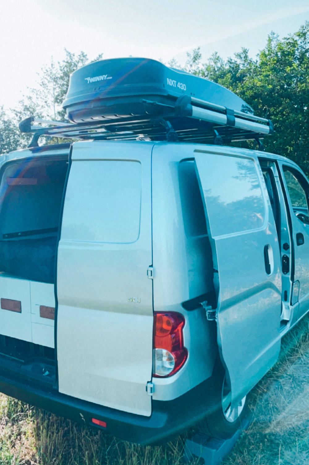 camper inrichting dakkoffer twinny load