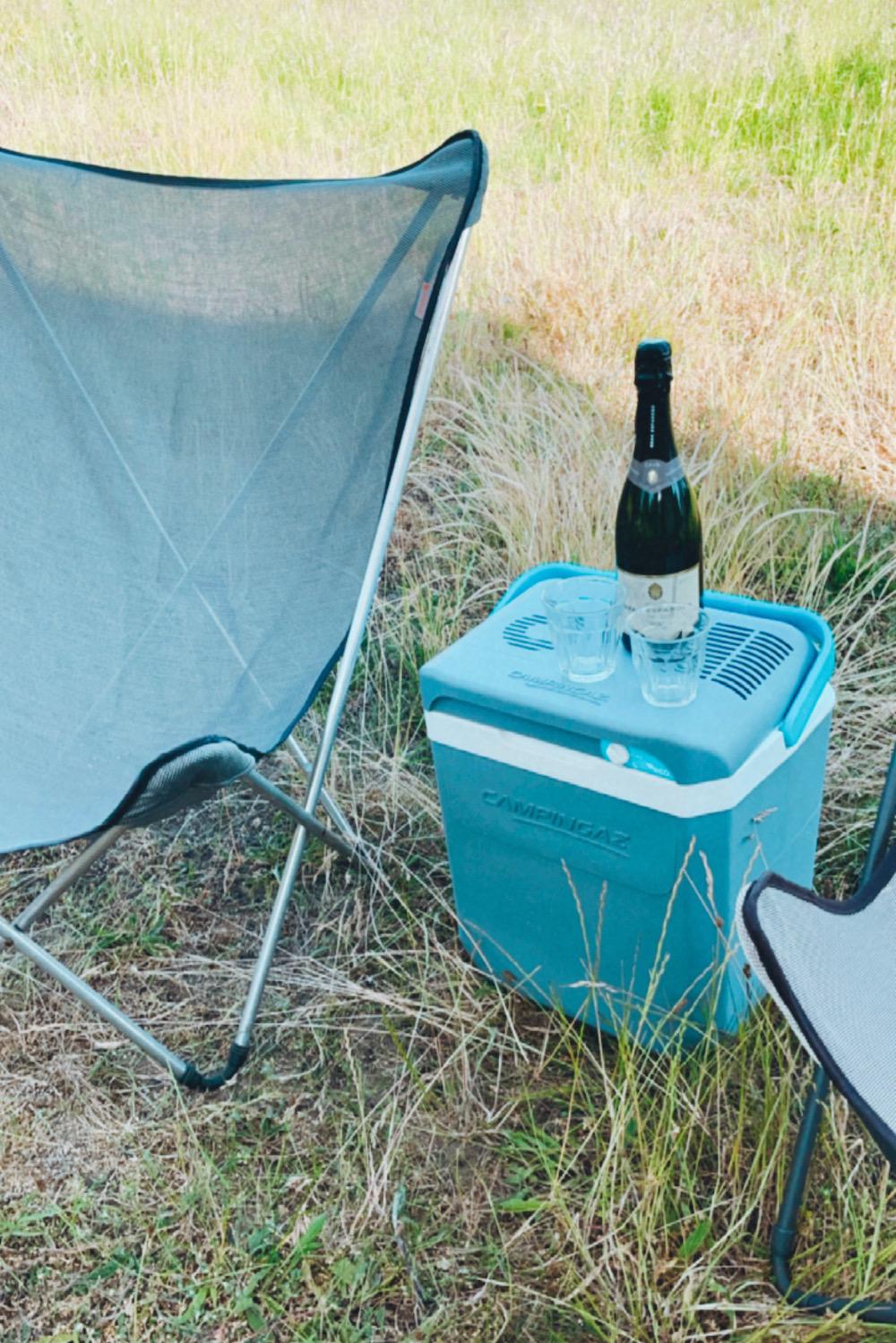 camper keuken maken campingaz koelkast
