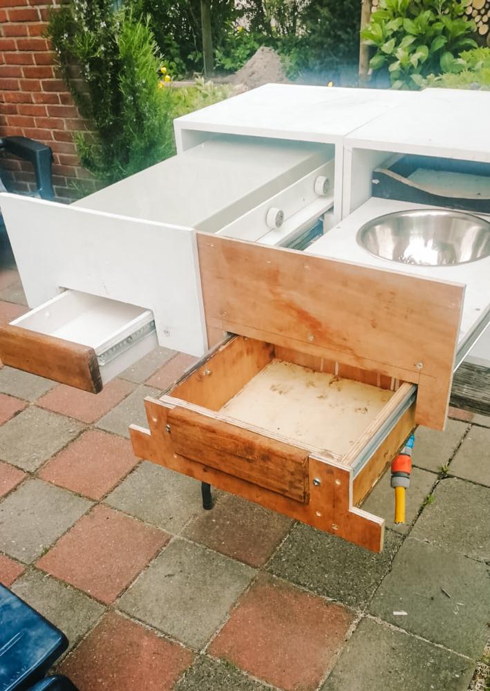 camper keuken maken keukenblokjes