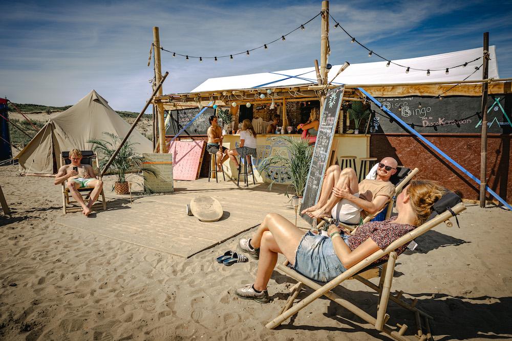 camping de lakens bloemendaal aan zee kamp