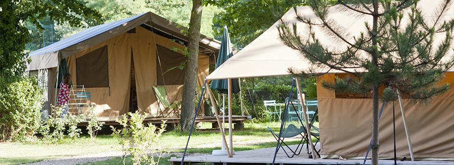camping parijs bois de boulogne ingerichte tenten