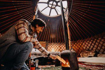 camping winterwoods yurts nederland