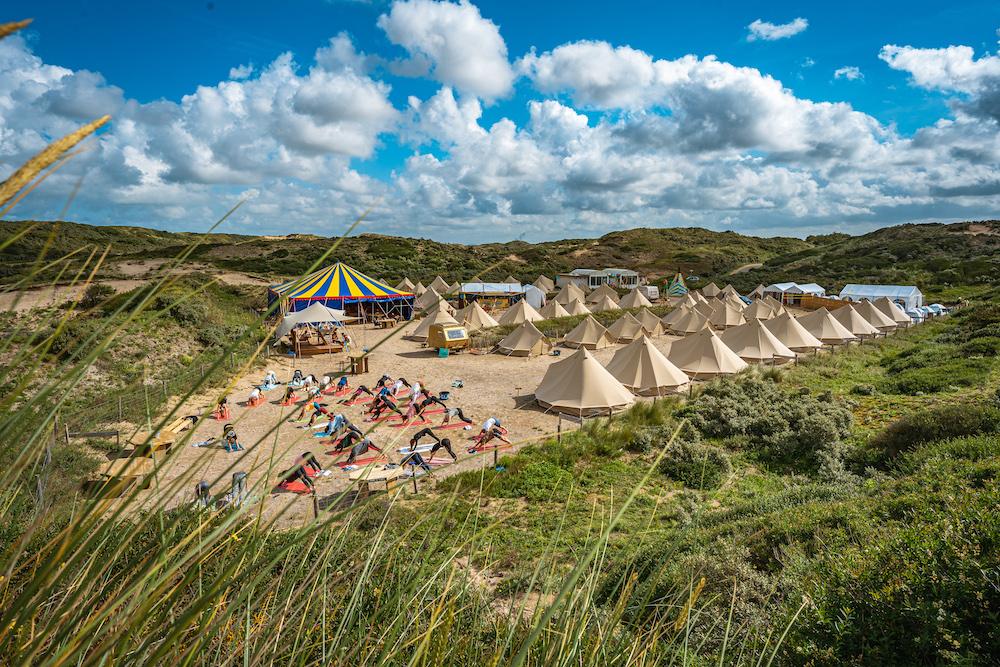 campingterrein beach camp de lakens