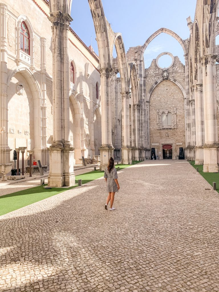 carmo klooster in lisboa