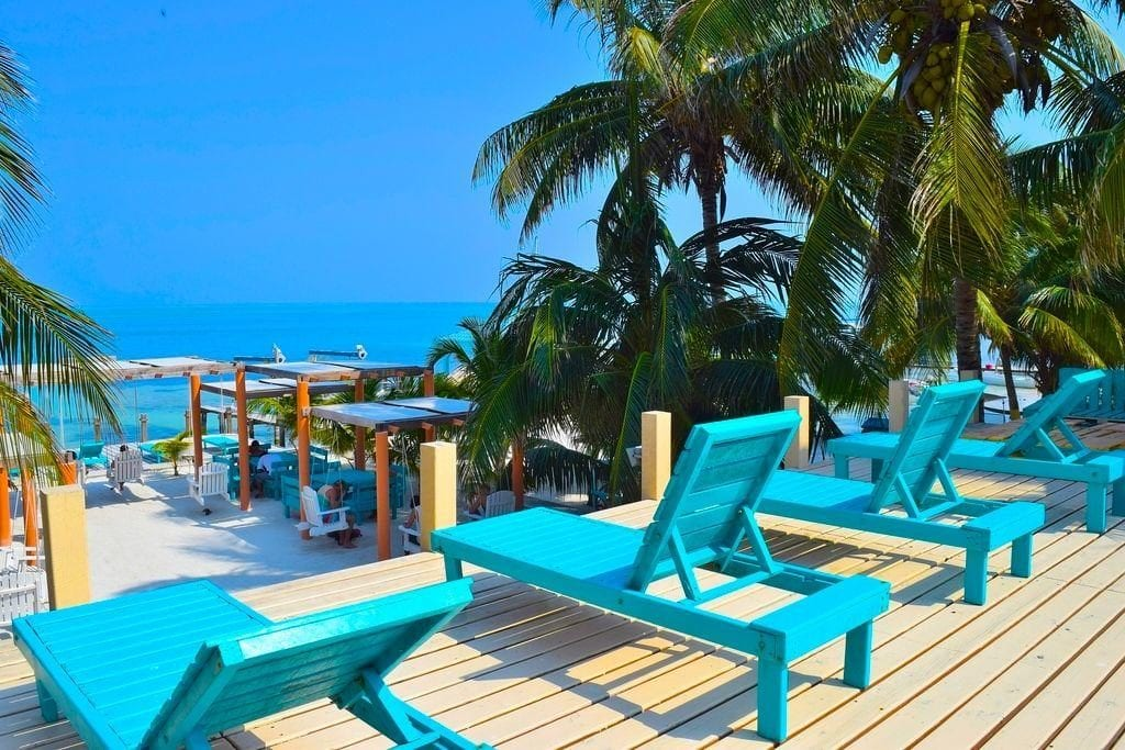 caye caulker belize magic beach resort
