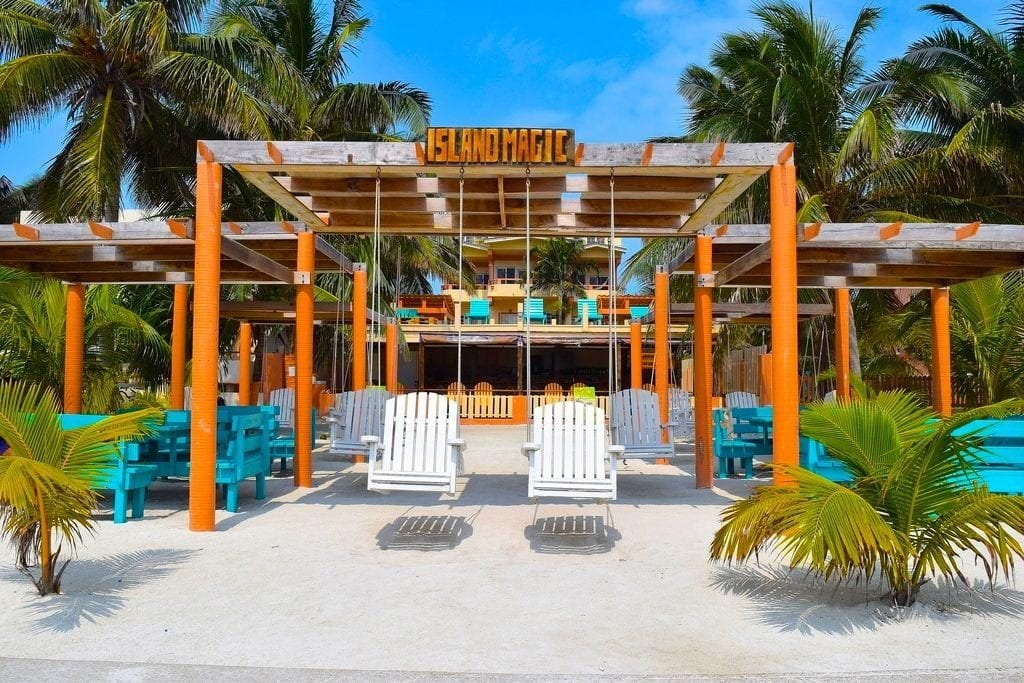 caye caulker island magic hotel belize