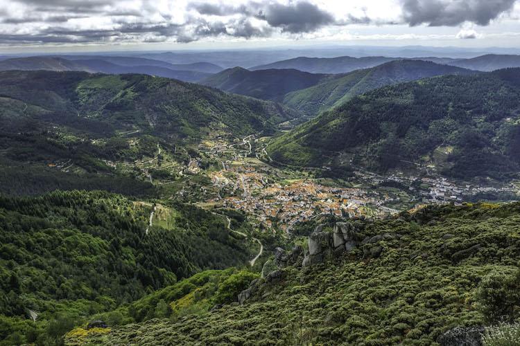 centraal portugal bergen