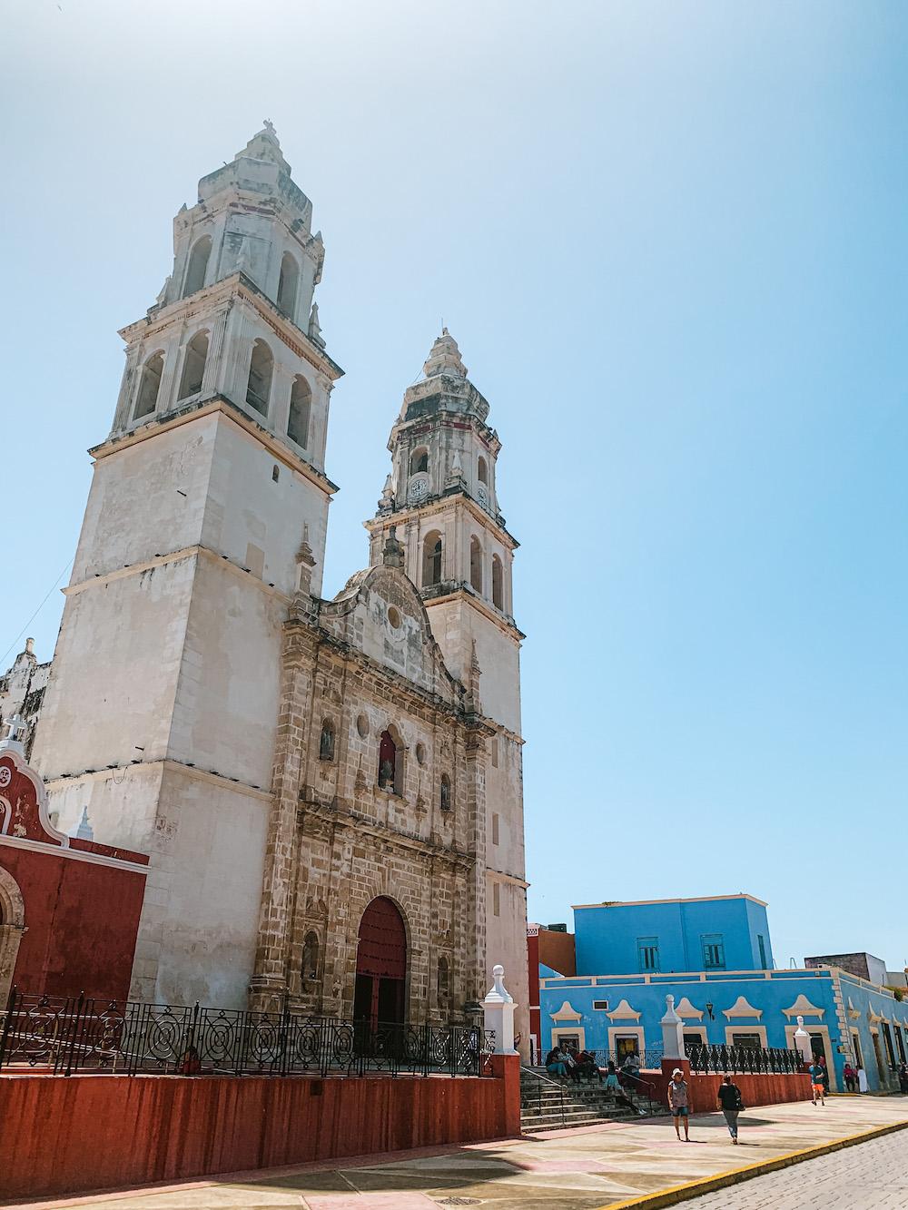 centrale plein kerk campeche
