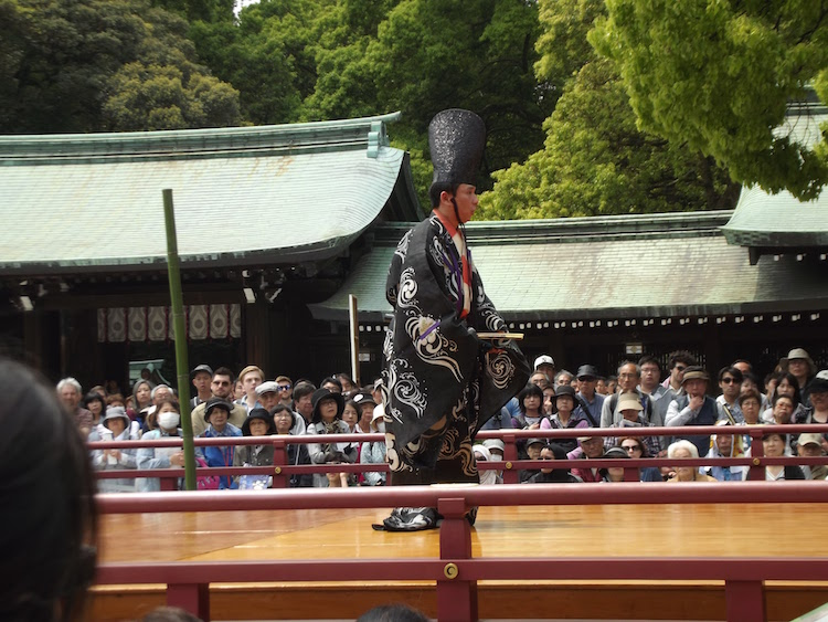 ceremoni optreden tokyo
