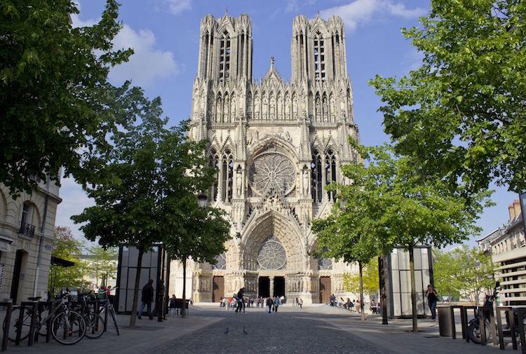 champagnestreek bezoeken REIMS kathedraal Carmen Moya