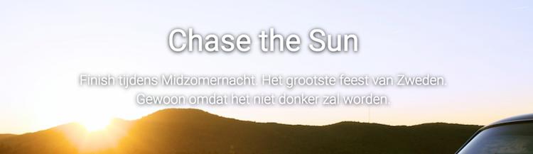 chase the sun roadtrip nosun