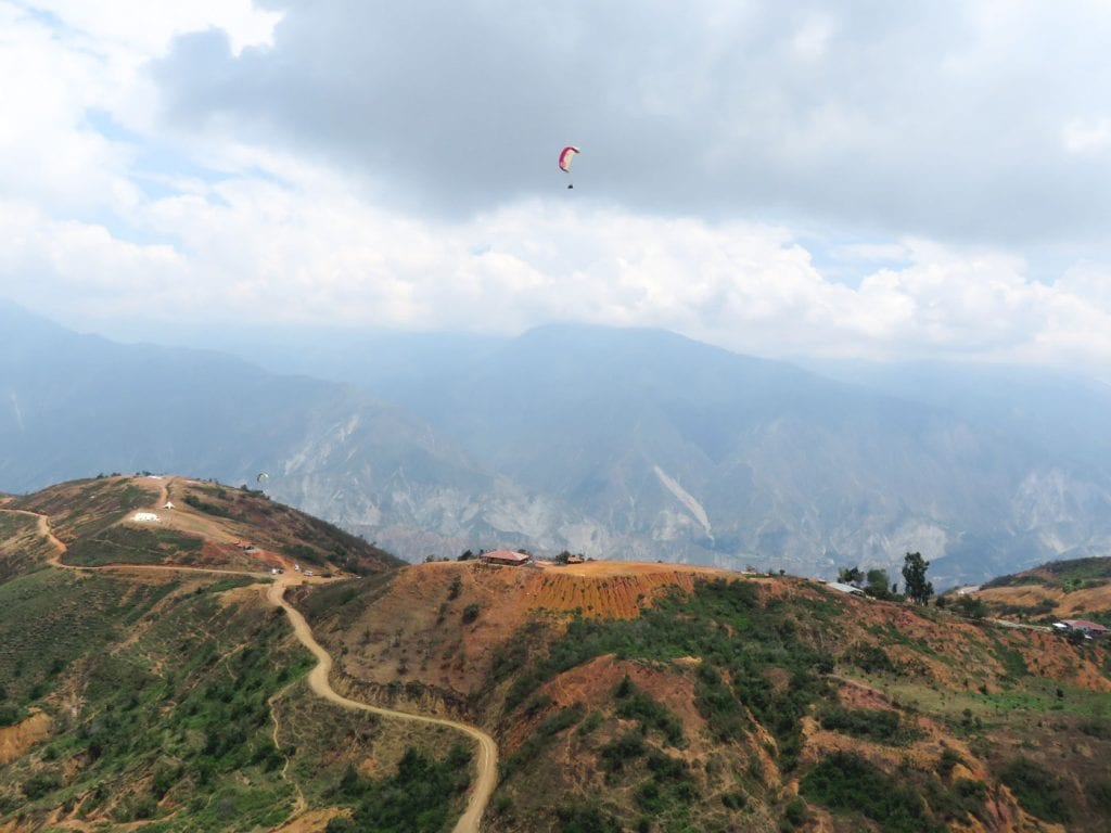 chicamocha canyon Colombia paragliden-2