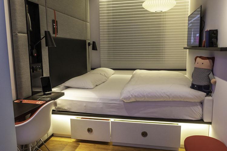 citizen m kopenhagen hotelkamer