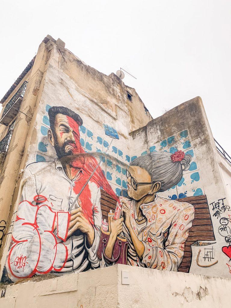 citytrip lisboa tips alfama streetart